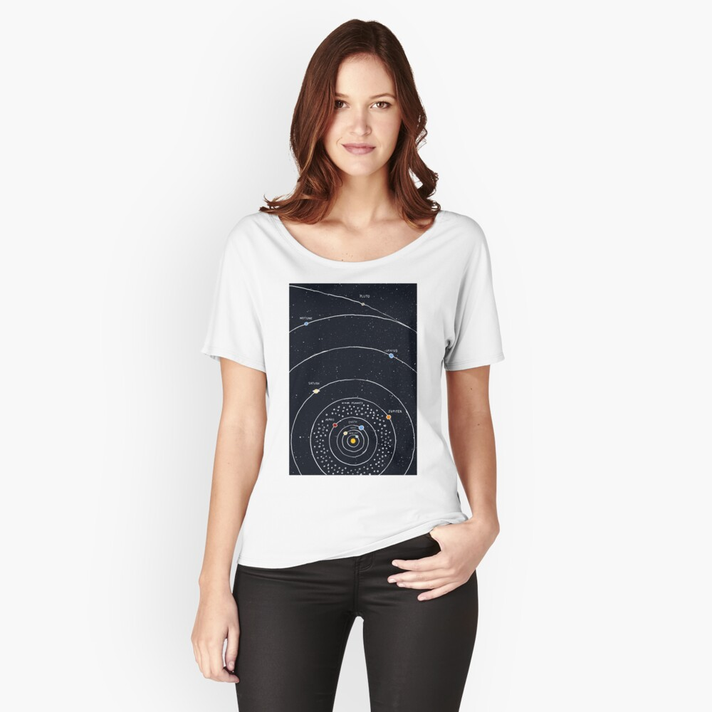Solar System Relaxed Fit T-Shirt