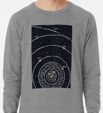 Sonnensystem Leichtes Sweatshirt