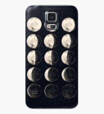 Moon Cycle Case/Skin for Samsung Galaxy