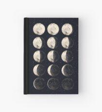 Moon Cycle Hardcover Journal