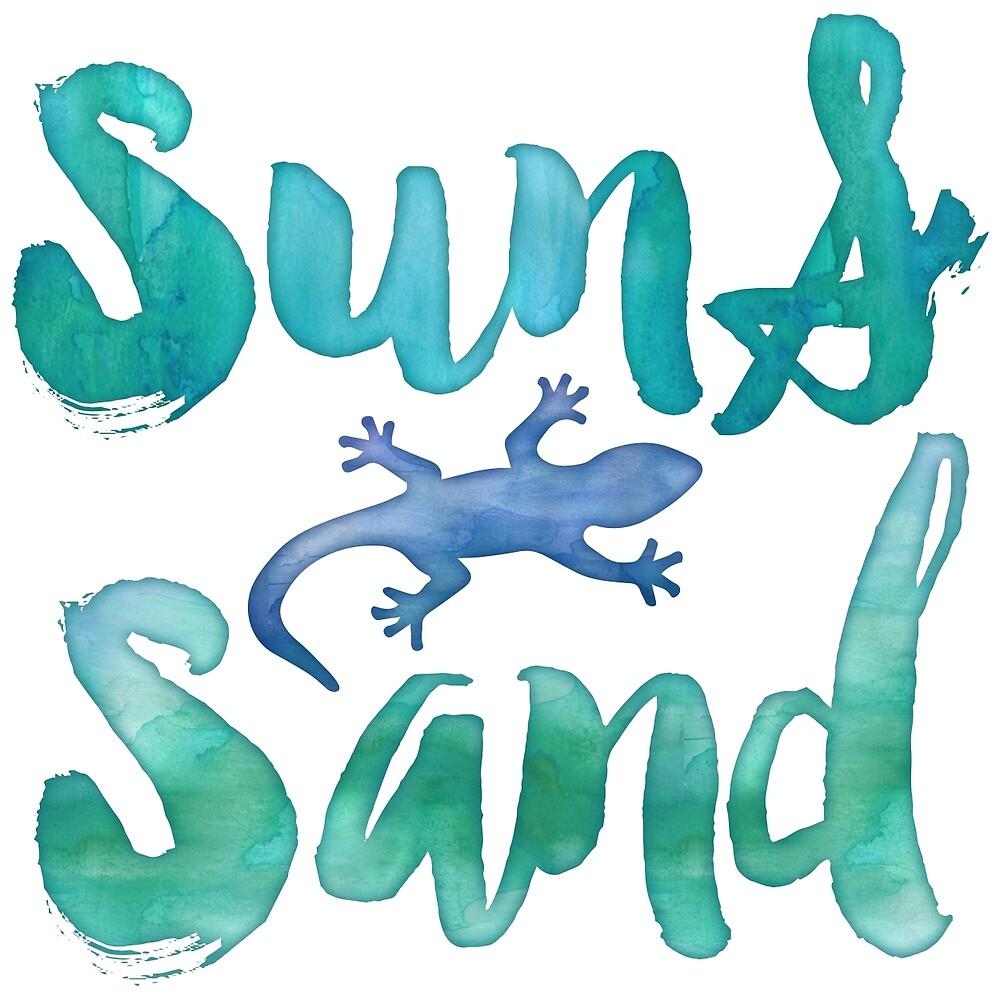 Sun and Sand Salamander by junkydotcom