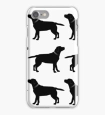 Black Labradors iPhone Case/Skin