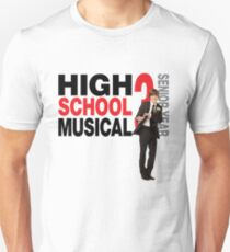 High school musical Troy Bolton hsm 3 Unisex T-Shirt
