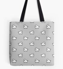 Undertale Annoying Dog - Grey Tote Bag
