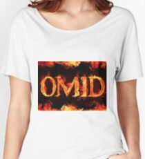 Omid's fire - artist unknown Women's Relaxed Fit T-Shirt