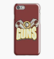 Marcus guns iPhone Case/Skin