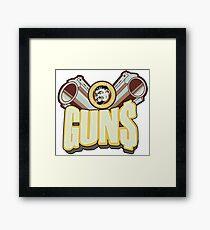 Marcus guns Framed Print