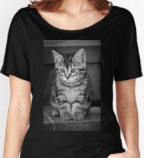 Tabby kitten Women's Relaxed Fit T-Shirt