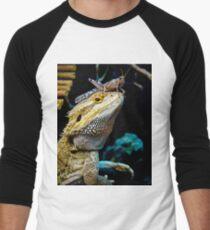 Smaugling's Dinner Hat Men's Baseball ¾ T-Shirt