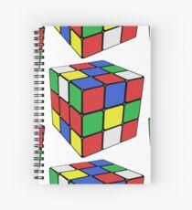 Rubik Cube Spiral Notebook