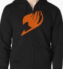 Fairy Tail Logo Zipped Hoodie