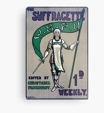 The Suffragette Metal Print