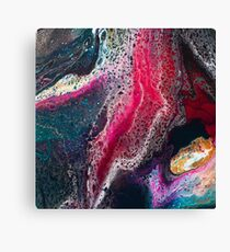 Sq2 Abstract Modern Painting Canvas Print