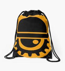 Clockwork Orange Drawstring Bag