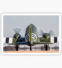 Dakota Departure Sticker