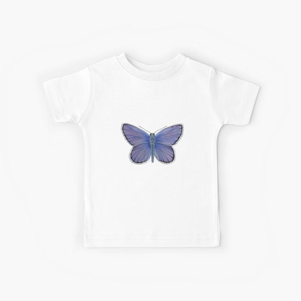Karner Blue Butterfly Kids T-Shirt