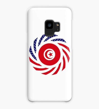 Tunisian American Multinational Patriot Flag Series Case/Skin for Samsung Galaxy