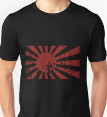 japanese naval ensign - distressed Unisex T-Shirt