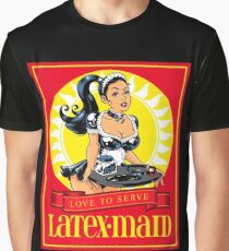 Latex-Maid - Color Graphic T-Shirt
