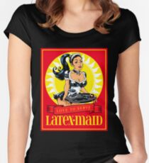 Latex-Maid - Color Women's Fitted Scoop T-Shirt