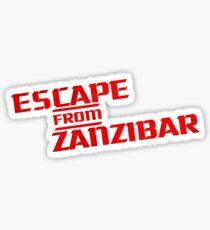 MGS - Escape From Zanzibar Sticker