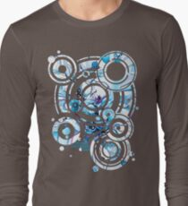 Sub-Atomic Stress Release Therapy - Watercolor Painting Long Sleeve T-Shirt