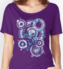 Sub-Atomic Stress Release Therapy - Watercolor Painting Women's Relaxed Fit T-Shirt