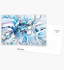 Sub-Atomic Stress Release Therapy - Watercolor Painting Postcards