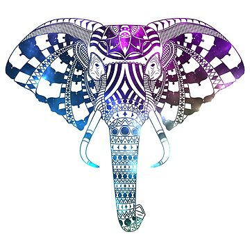Elephant - Neon Space by Kapperz