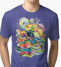 Timeless June 26 2007 - Watercolor Painting Tri-blend T-Shirt