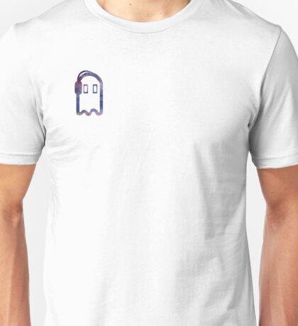 Napstablook with Headphones Galaxy Unisex T-Shirt