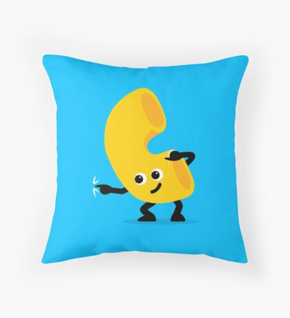 Character Fusion - Just Mac Throw Pillow