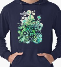 Visible Connections - Watercolor and Pen Art Lightweight Hoodie