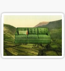 Green Couch Sticker