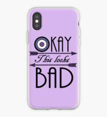 Okay... This looks bad iPhone Case