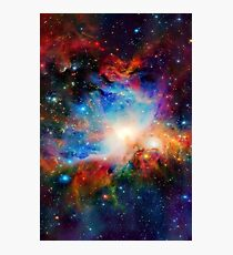 Hubble Telescope (Orion Nebula) Photographic Print