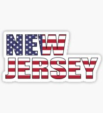 New Jersery Sticker