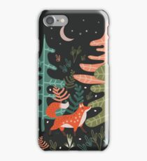 Evergreen Fox Tale iPhone Case/Skin