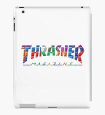 thrasher color block logo iPad Case/Skin