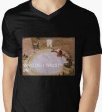 scarface trust Men's V-Neck T-Shirt