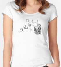 Sweet moon water Women's Fitted Scoop T-Shirt