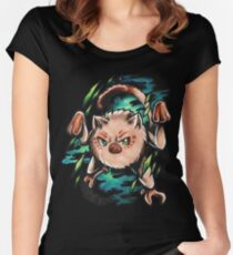 Mankey Women's Fitted Scoop T-Shirt