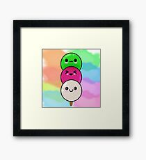 Dango Framed Print