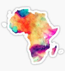 Africa map Sticker