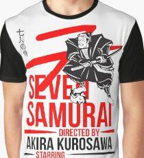 Seven Samurai Graphic T-Shirt
