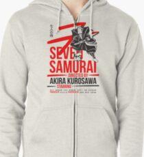 Seven Samurai Zipped Hoodie
