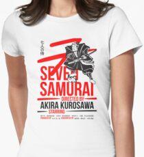 Seven Samurai Womens Fitted T-Shirt
