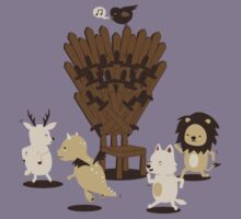 Game Of Musical Thrones Kids Tee