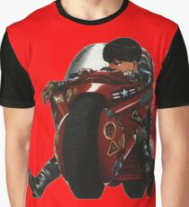 Kaneda on his bike Graphic T-Shirt