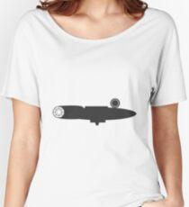 Minimal Millenium Falcon Women's Relaxed Fit T-Shirt